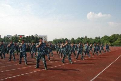 中国民航飞行学院德阳校区军训