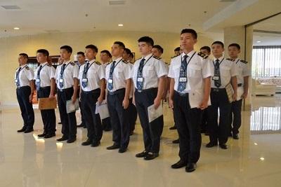 中国民航飞行学院德阳校区安保培训