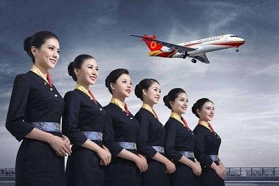 中国民航飞行学院德阳校区空姐培训